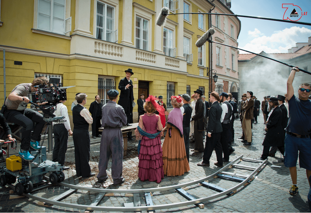 "Making of from the movie ""Spring 1905"", photo: Krzysztof Wiktor"