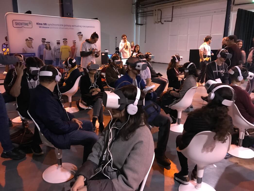 Showtime VR on VR Days Europe
